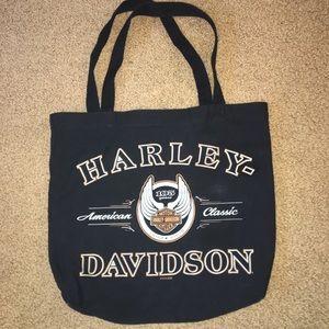 Harley Davidson tote